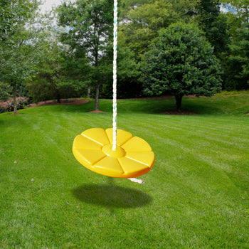 Disc Swing - Yellow | WillyGoat Playground & Park Equipment
