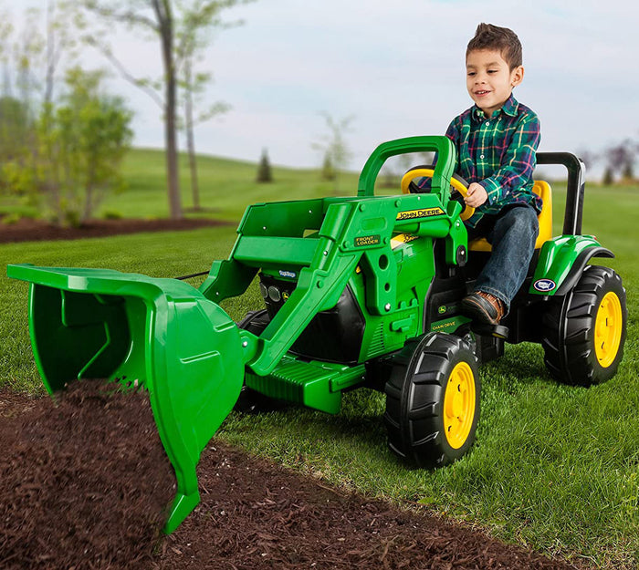 John Deere Front Loader Ride-On Pedal Tractor
