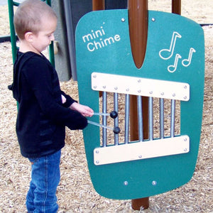 Mini Chime Wall | WillyGoat Playground & Park Equipment