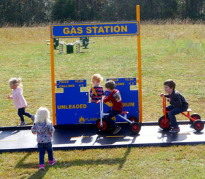 Gas Station Stand Alone Commercial Play Event | WillyGoat Playground & Park Equipment
