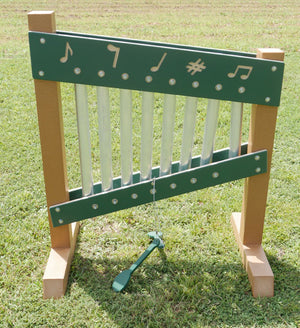 Chime Wall Freestanding Activity | WillyGoat Playground & Park Equipment