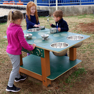 Island Mud Kitchen Commercial Play Event | WillyGoat Playground & Park Equipment