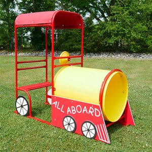 Infinity Express Choo Choo 4 Piece Commercial Play Event | WillyGoat Playground & Park Equipment