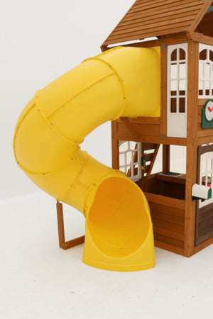 Lewiston Retreat Wooden Swing Set | WillyGoat Playground & Park Equipment