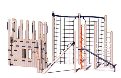 Ascend Play System  | WillyGoat Playground & Park Equipment