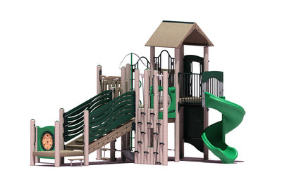 Hickory Play System | WillyGoat Playground & Park Equipment