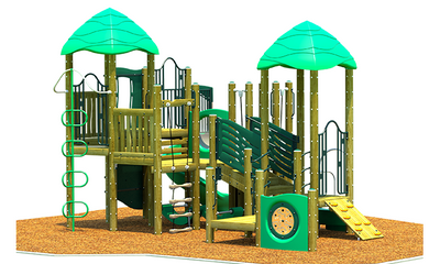 Overpass Play System  | WillyGoat Playground & Park Equipment