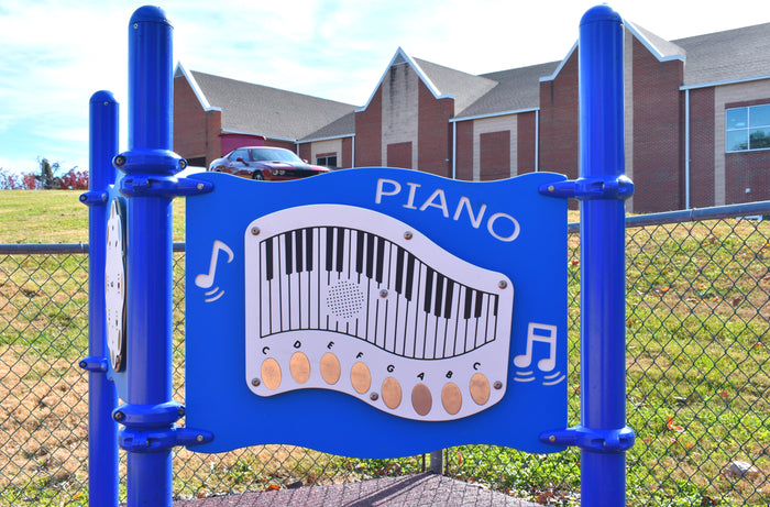 Piano Panel Playground Music Station