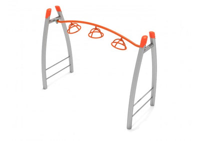 Freestanding 3-Wheel Overhead Climber | WillyGoat Playground & Park Equipment