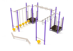 North Bethesda Fitness Course Playground | WillyGoat Playground & Park Equipment