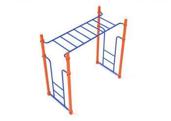Straight Rung Horizontal Ladder | WillyGoat Playground & Park Equipment