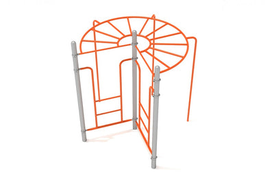 270-Degree Rung Ladder | WillyGoat Playground & Park Equipment