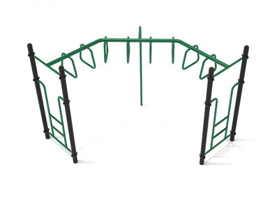 90-Degree Trapezoid Loop Ladder | WillyGoat Playground & Park Equipment