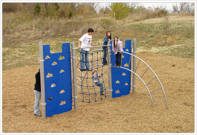 Hercules VI Climber / Climbing Structure | WillyGoat Playground & Park Equipment