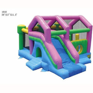 Commercial Grade 3 In 1 Bounce And Slide Inflatable Bouncer