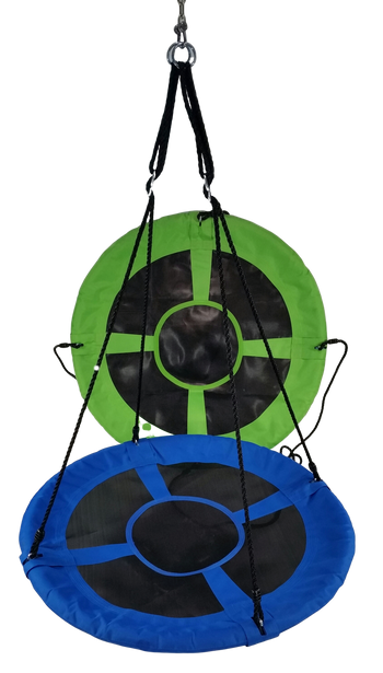 "Swing Saucer 40"" w/Adjustable Ropes"