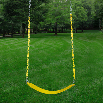 Belt Swing With Coated Chain - Heavy Duty | WillyGoat Playground & Park Equipment