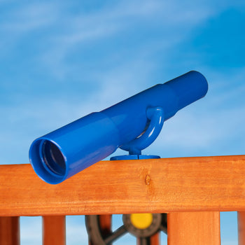 Telescope For Wood Swing Sets (Blue) | WillyGoat Playground & Park Equipment