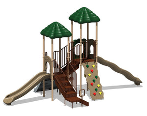 Bighorn Playsystem - Natural or Playful Colors | WillyGoat Playground & Park Equipment