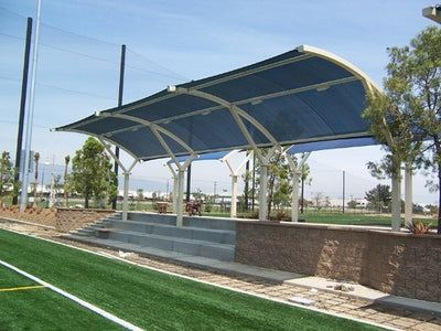 Eclipse 2 Post Arch Shade Structure | WillyGoat Parks and Playgrounds