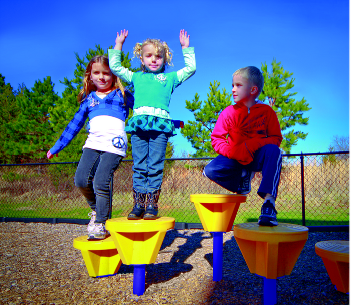Fun Pods Playground Section, 5 Pods