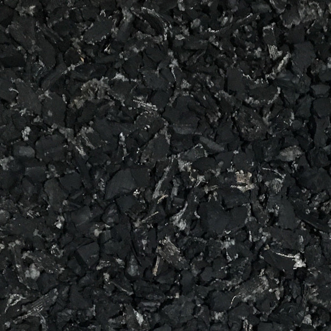 loose fill rubber mulch playground surface material forms a rubber synthetic turf with high accessibility