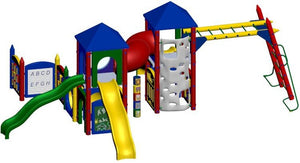 Fort Derussy Playground | WillyGoat Playground & Park Equipment