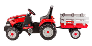 Case IH Tractor And Trailer Pedal Car | WillyGoat Playground & Park Equipment