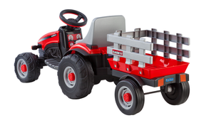 Case IH Lil Tractor And Trailer | WillyGoat Playground & Park Equipment