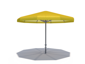 Coolbrella Single Post Umbrella Shade Structure | WillyGoat Parks and Playgrounds
