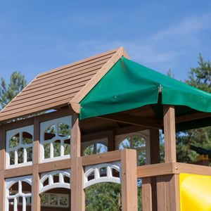 Lookout Lodge Playset | WillyGoat Playground & Park Equipment