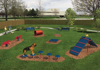 Dog Park Exercise Equipment - Dog Training Course