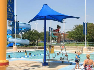 LifeGuard Shade Structure | WillyGoat Playground & Park Equipment