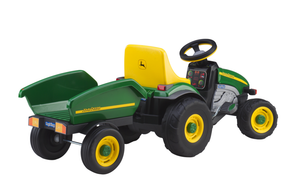 John Deere Farm Tractor Pedal Car | WillyGoat Playground & Park Equipment