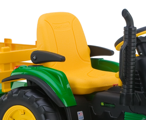 John Deere Ground Force Tractor With Trailer | WillyGoat Playground & Park Equipment