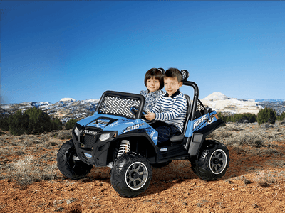 Polaris RZR 900 Electric Riding Vehicle | WillyGoat Playground & Park Equipment