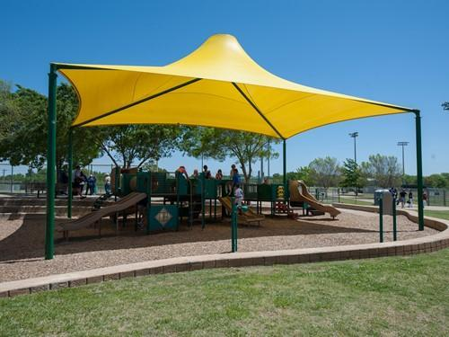 Sahara Roof Shade Structure with 4 Posts
