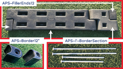 Playground Border Filler End