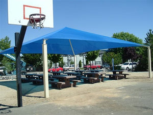 Pyramid Roof Shade Structure | WillyGoat Parks and Playgrounds