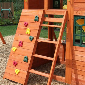 Canyon Ridge Wooden Swing Set | WillyGoat Playground & Park Equipment