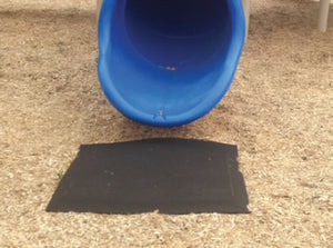 Swing and Slide Rubber Playground Mat