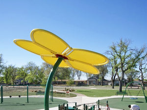 Flower Shade Structure | WillyGoat Parks and Playgrounds