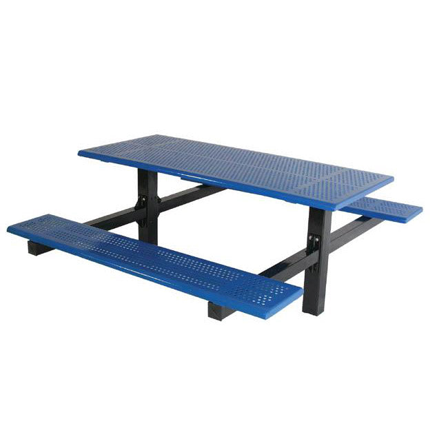 Double Cantilever Picnic Table, Beveled Edge (6 or 8 Foot Long)