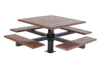 Cantilever Picnic Table - Rolled Edge