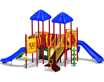 Pike's Peak Play System  | WillyGoat Playground & Park Equipment