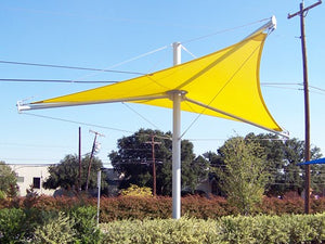 Aurora Single Post Shade Structure | WillyGoat Parks and Playgrounds
