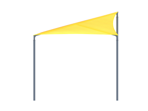 Wave Shade Structure with 4 Posts | WillyGoat Parks and Playgrounds