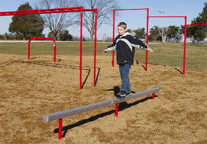 Aluminum Balance Beam Fitness Course Section - 12 Foot Long