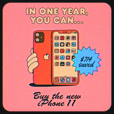 How much money you save when you quit smoking: buy a new iPhone in one year