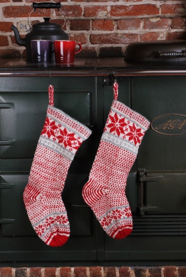 CHRISTMAS STOCKING FOR THE CHIMNEY